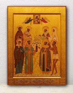 Семейная икона (8 фигур) (образец №1)