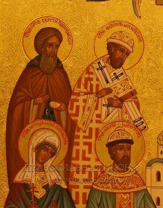 Семейная икона (8 фигур) (образец №2)