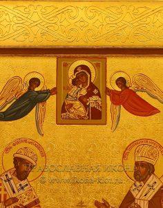 Семейная икона (8 фигур) (образец №4)