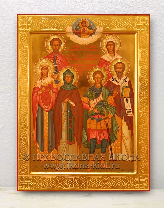 Семейная икона (6 фигур)