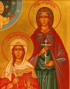 Семейная икона (4 фигуры) (образец №3)