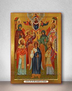 Семейная икона (7 фигур)