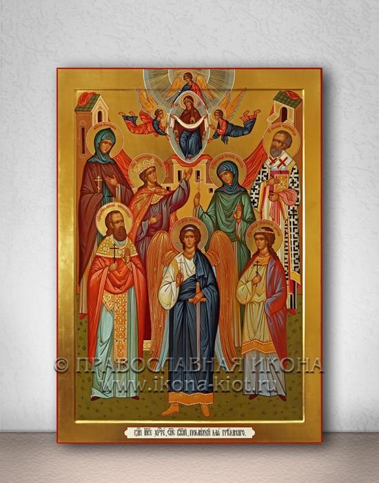 Семейная икона (7 фигур) (образец №1)