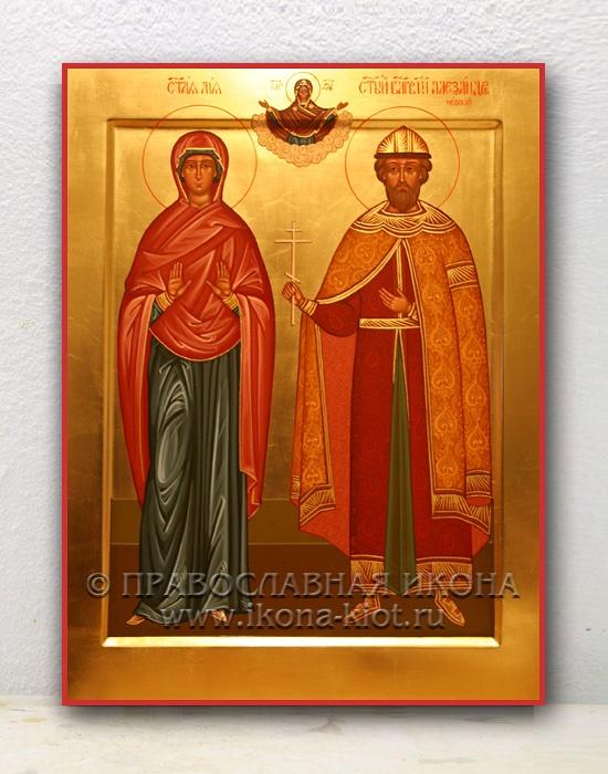 Семейная икона (2 фигуры)