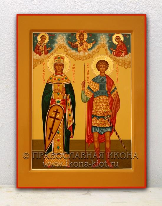 Семейная икона (2 фигуры) (образец №1)