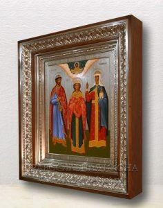 Семейная икона (3 фигуры) (образец №3)