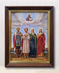 Семейная икона (4 фигуры) (образец №1)