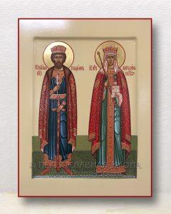 Икона «Владимир князь и Ангелина Сербская»