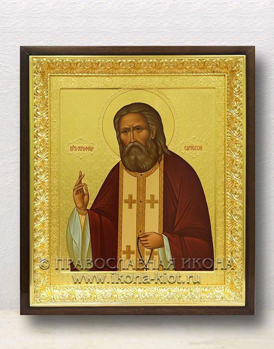 Икона «Серафим Саровский, преподобный» (образец №12)