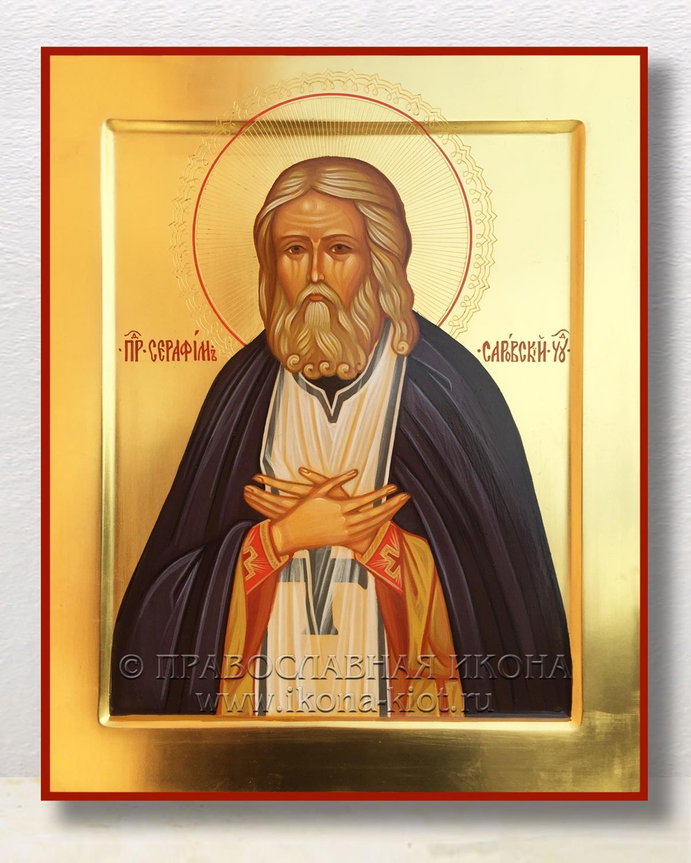 Икона «Серафим Саровский, преподобный» (образец №13)