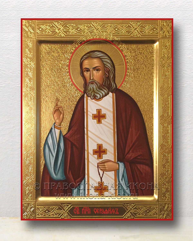 Икона «Серафим Саровский, преподобный» (образец №22)