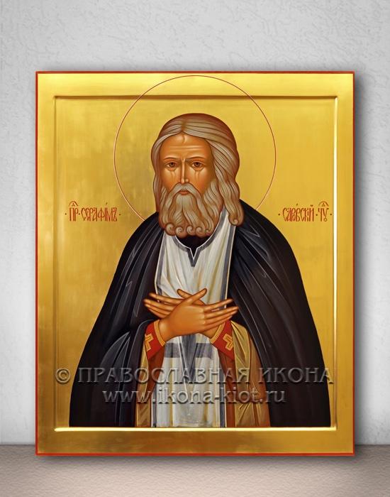 Икона «Серафим Саровский, преподобный» (образец №3)