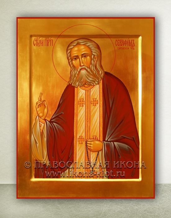 Икона «Серафим Саровский, преподобный» (образец №8)