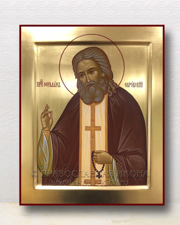 Икона «Серафим Саровский, преподобный» (образец №9)