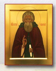 Икона «Сергий Радонежский, преподобный» (образец №10)