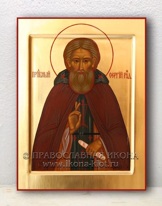 Икона «Сергий Радонежский, преподобный» (образец №11)