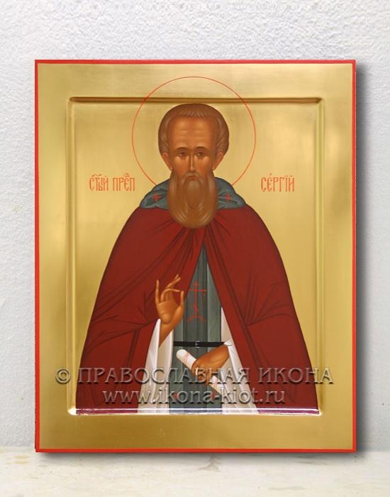 Икона «Сергий Радонежский, преподобный» (образец №14)