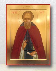 Икона «Сергий Радонежский, преподобный» (образец №15)