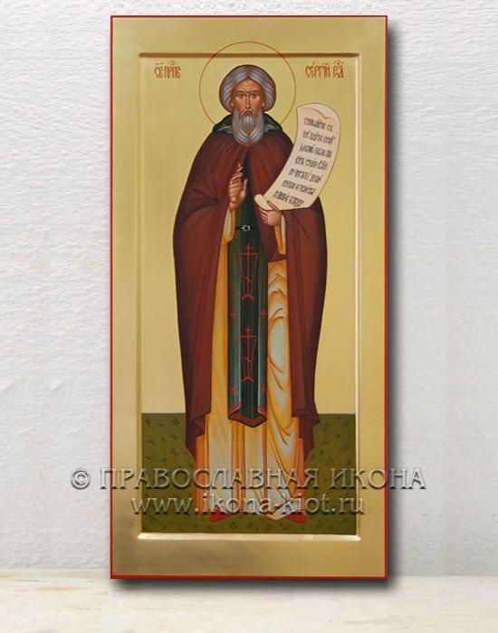 Икона «Сергий Радонежский, преподобный» (образец №16)
