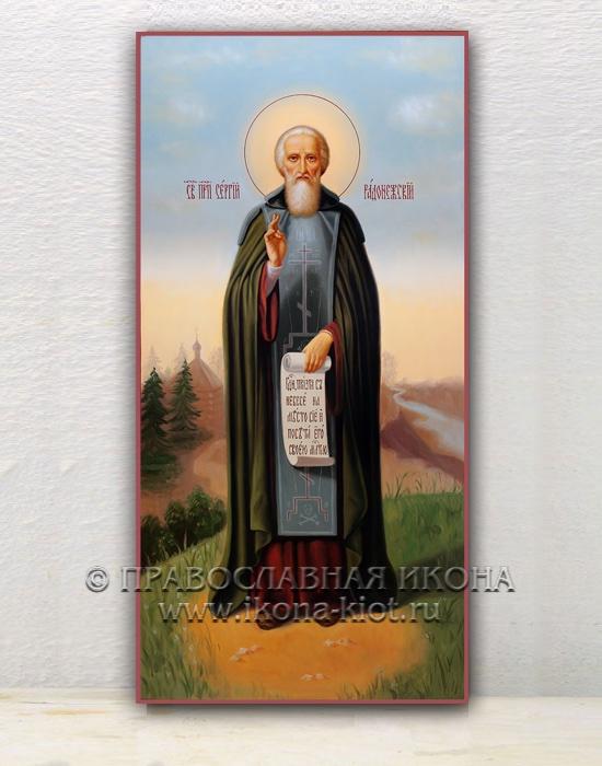 Икона «Сергий Радонежский, преподобный» (образец №17)