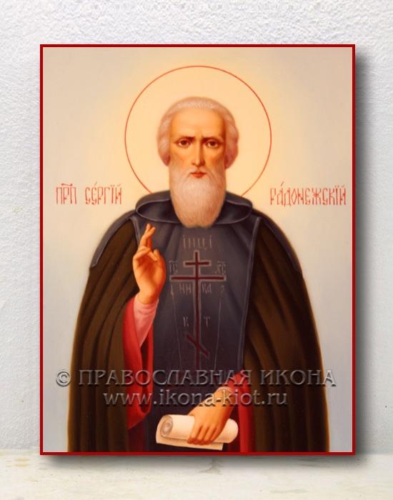Икона «Сергий Радонежский, преподобный» (образец №19)