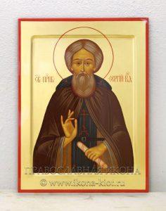 Икона «Сергий Радонежский, преподобный» (образец №1)