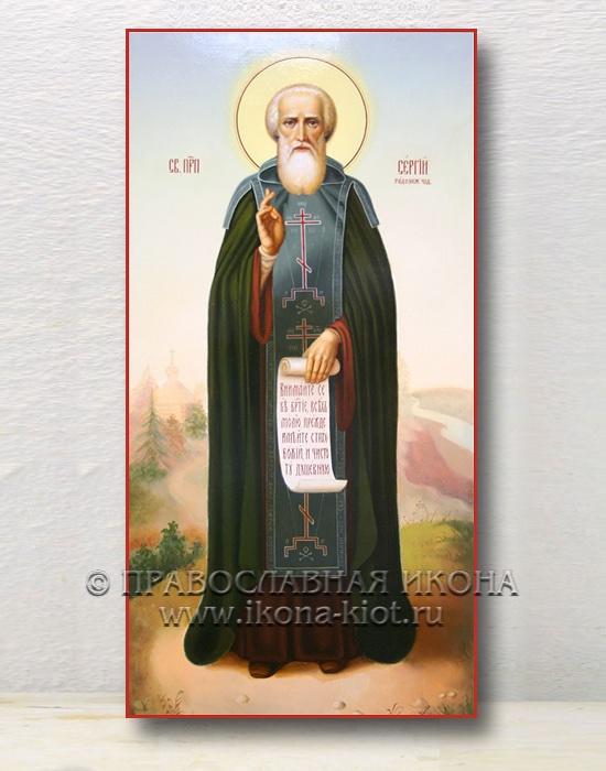 Икона «Сергий Радонежский, преподобный» (образец №20)