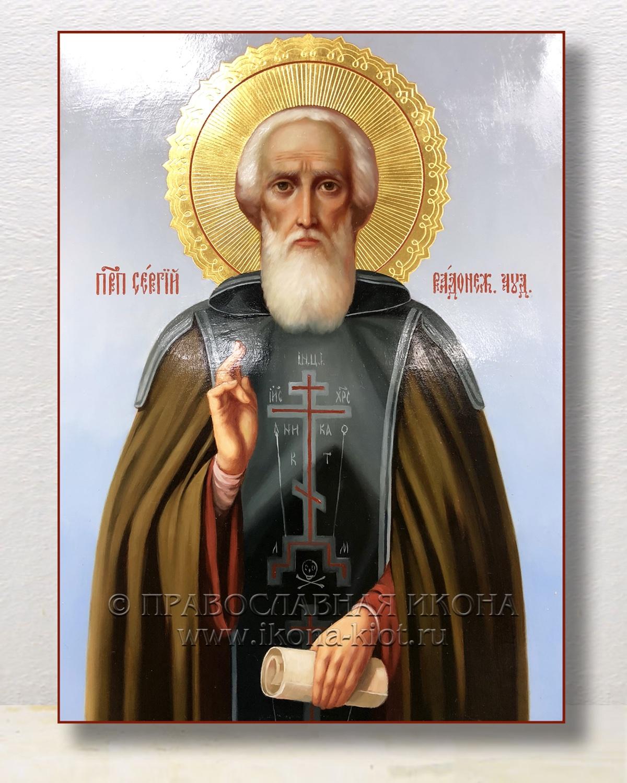 Икона «Сергий Радонежский, преподобный» (образец №21)