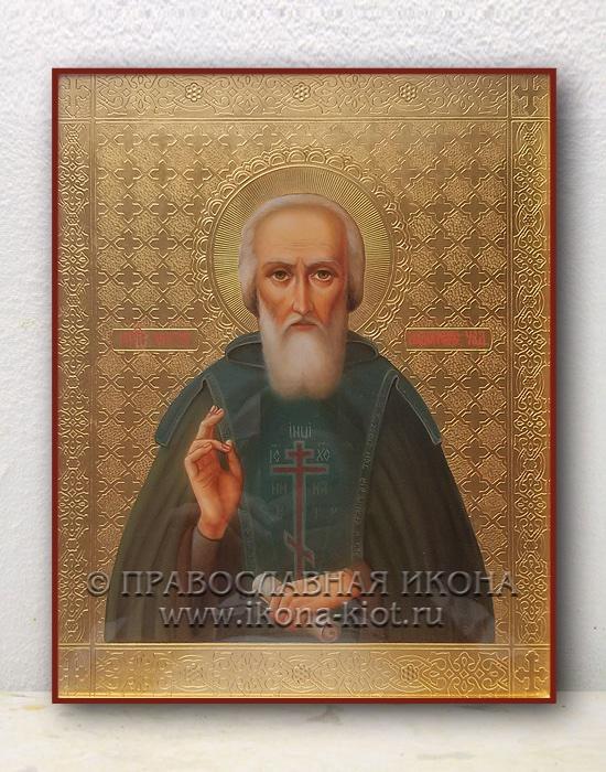 Икона «Сергий Радонежский, преподобный» (образец №22)