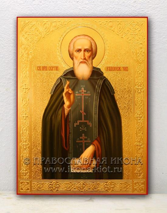 Икона «Сергий Радонежский, преподобный» (образец №23)