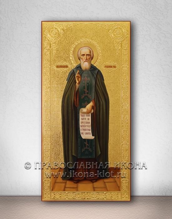 Икона «Сергий Радонежский, преподобный» (образец №25)