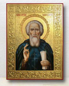 Икона «Сергий Радонежский, преподобный» (образец №27)