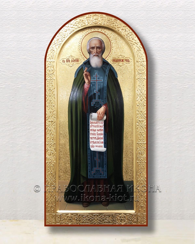 Икона «Сергий Радонежский, преподобный» (образец №28)