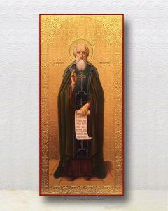 Икона «Сергий Радонежский, преподобный» (образец №29)