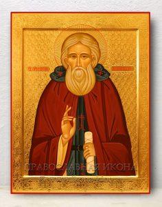 Икона «Сергий Радонежский, преподобный» (образец №30)
