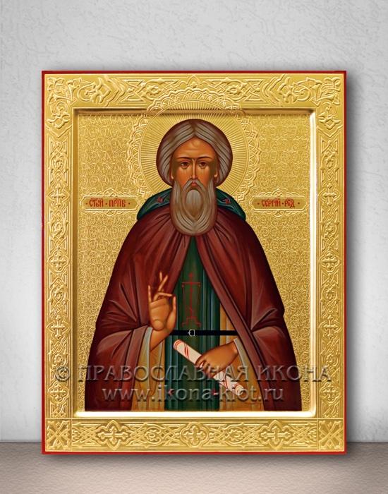 Икона «Сергий Радонежский, преподобный» (образец №35)