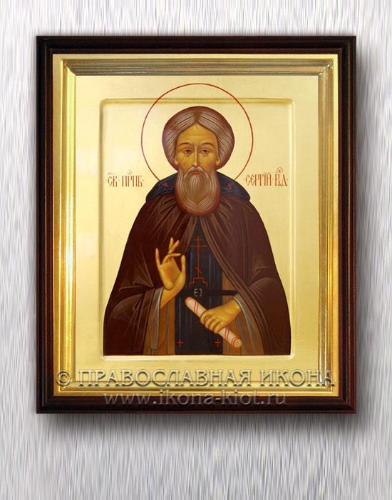Икона «Сергий Радонежский, преподобный» (образец №36)