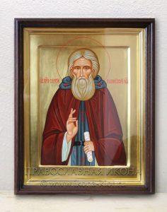 Икона «Сергий Радонежский, преподобный» (образец №37)