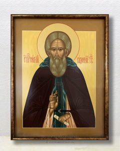 Икона «Сергий Радонежский, преподобный» (образец №38)
