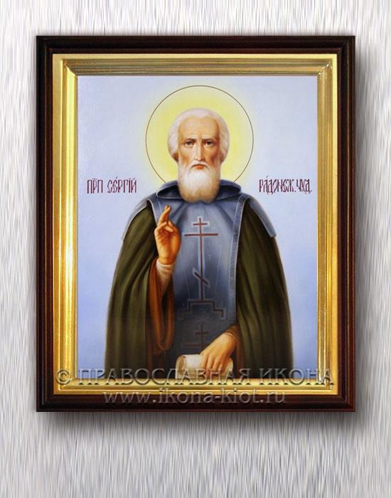 Икона «Сергий Радонежский, преподобный» (образец №39)