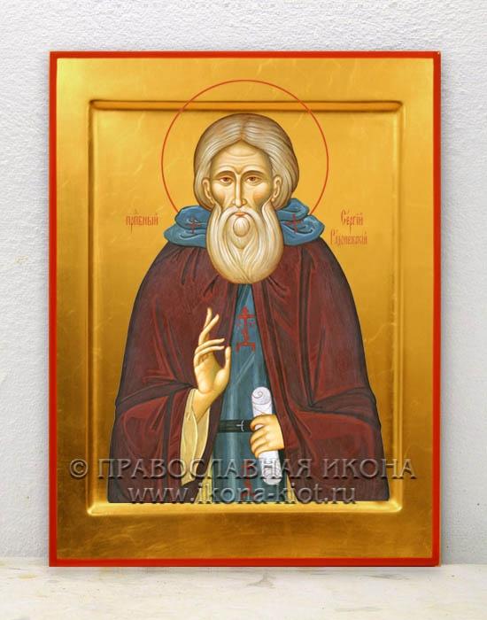 Икона «Сергий Радонежский, преподобный» (образец №4)