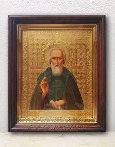Икона «Сергий Радонежский, преподобный» (образец №40)