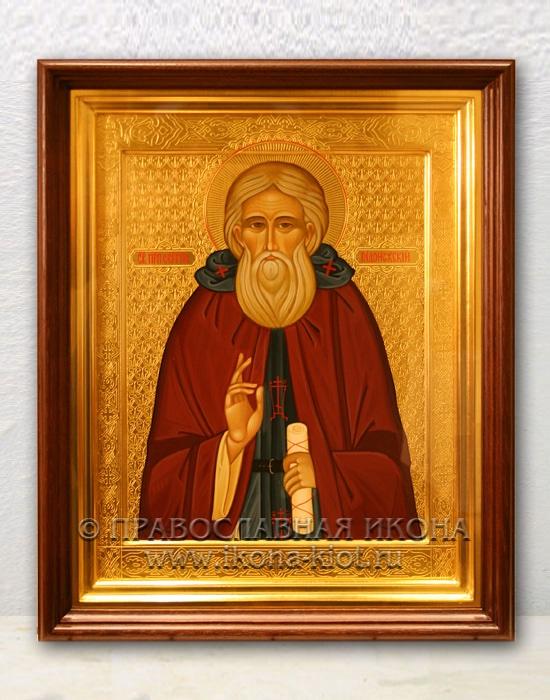 Икона «Сергий Радонежский, преподобный» (образец №41)