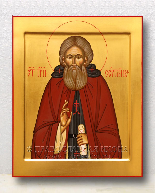 Икона «Сергий Радонежский, преподобный» (образец №44)