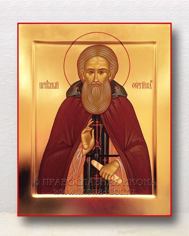 Икона «Сергий Радонежский, преподобный» (образец №45)