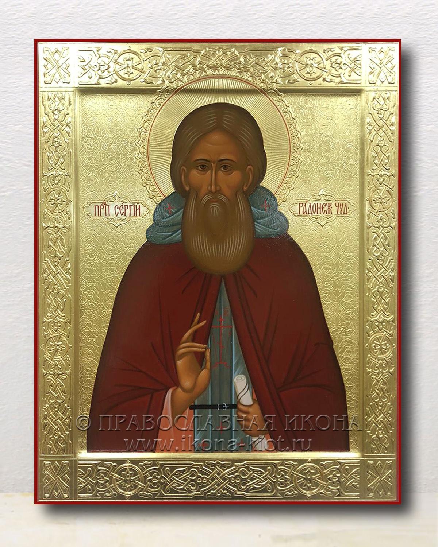 Икона «Сергий Радонежский, преподобный» (образец №46)