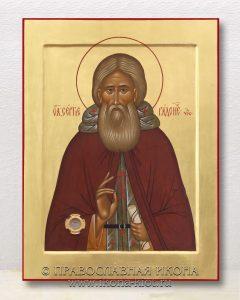 Икона «Сергий Радонежский, преподобный» (образец №47)