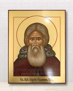 Икона «Сергий Радонежский, преподобный» (образец №49)