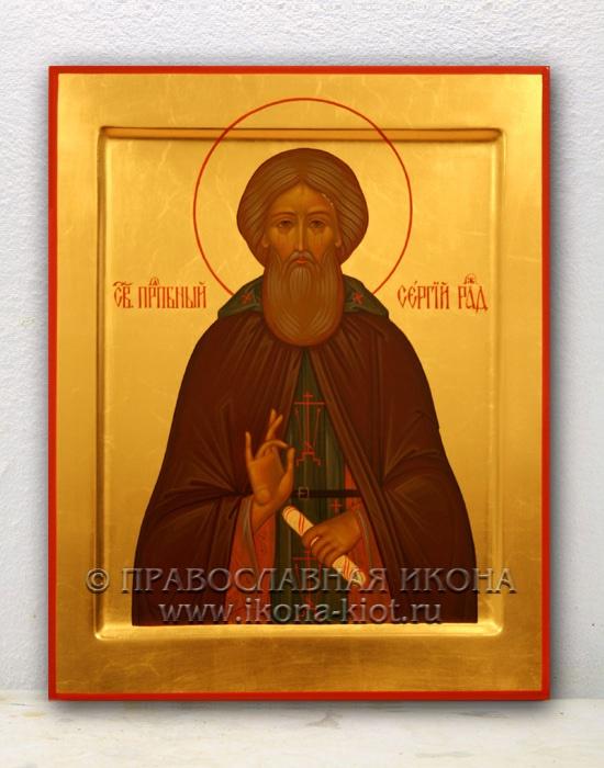 Икона «Сергий Радонежский, преподобный» (образец №5)