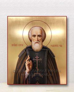 Икона «Сергий Радонежский, преподобный» (образец №51)